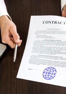 Використання контрактівFIDIC